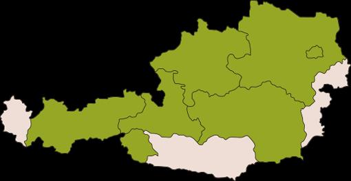 Oesterreich-Karte zur Hundehaftpflicht